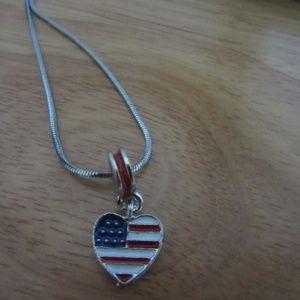 Dark Sterling silver necklace